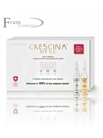 Crescina 200 cредство для восстановления роста волос для мужчин 350 ml
