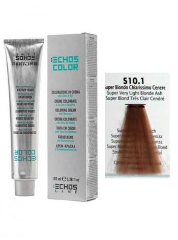 """10/01 Краска для волос Echos Color """"пепельный натуральный блондин"""""""