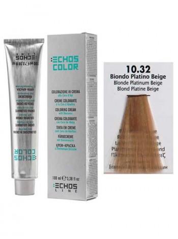 10/32 Краска для волос Echos Color бежевый платиновый блондин
