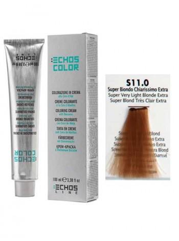 11/0 Краска для волос Echos Color супер светлый блондин экстра