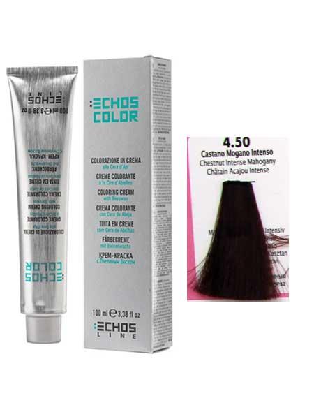 """4/5 Краска для волос Echos Color """"каштановый красное дерево"""""""