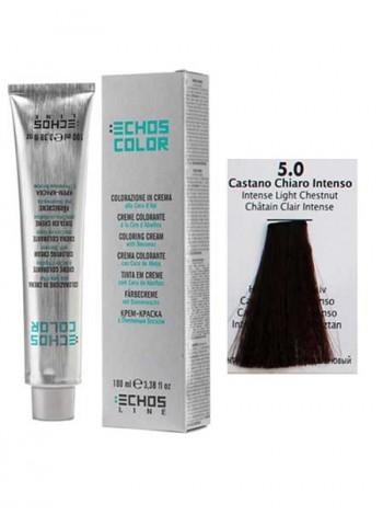 5/0 Краска для волос Echosline Echos Color интенсивный светло-каштановый
