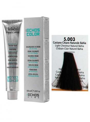 """5/003 Краска для волос Echos Color """"светло-каштановый байя"""""""