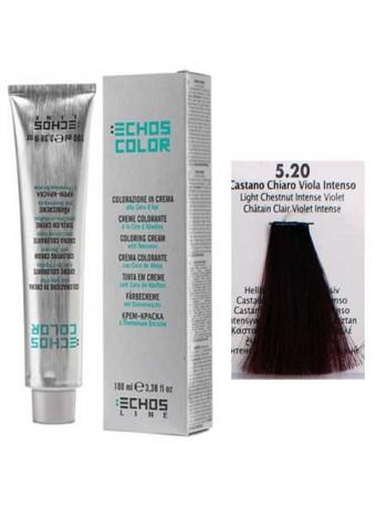5/20 Краска для волос Echosline Echos Color светло-каштановый фиолет