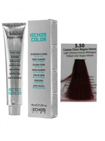"""5/50 Краска для волос Echos Color """"каштановый оттенок красного дерева"""""""