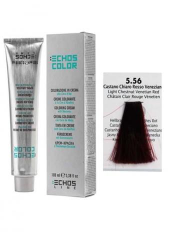 """5/56 Краска для волос Echos Color """"венецианский красный"""""""