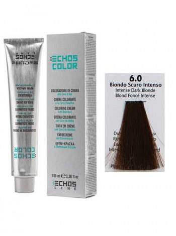 6/0 Краска для волос Echos Color интенсивный темно-русый