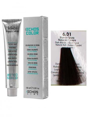 """6/01 Краска для волос Echos Color """"пепельный светло-русый"""""""