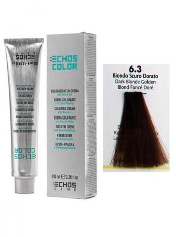 """6/3 Краска для волос Echos Color """"золотистый темно-русый"""""""