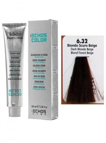 6/32 Краска для волос Echos Color бежевый темно-русый