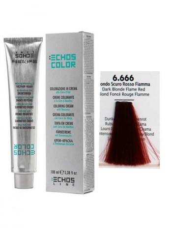 6/666 Краска для волос Echos Color огненно-красный блондин