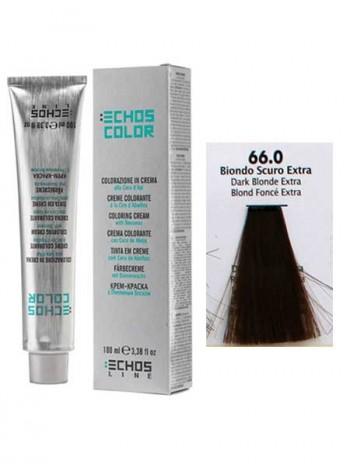 66/0 Краска для волос Echos Color темно-русый натуральный