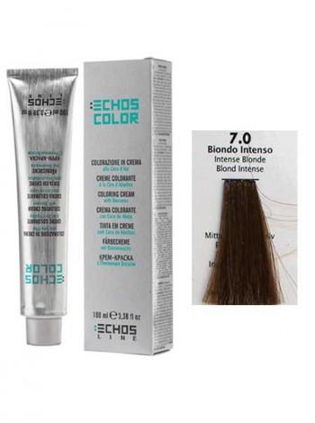 7/0 Краска для волос Echos Color интенсивный русый