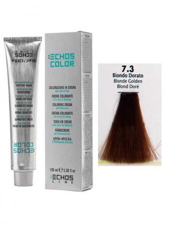 """7/3 Краска для волос Echos Color """"золотистый блондин"""""""