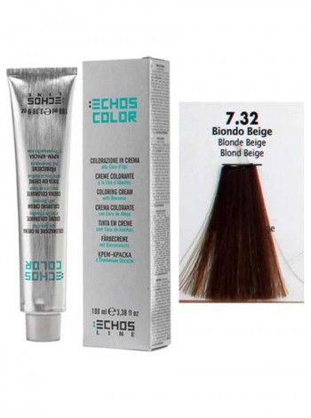 7/32 Краска для волос Echos Color бежевый блондин