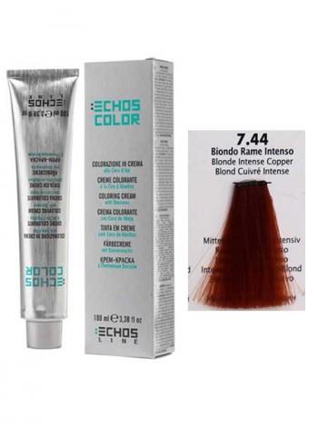 7/44 Краска для волос Echos Color медный яркий блондин