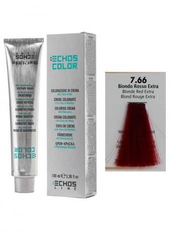 """7/66 Краска для волос Echos Color """"экстра медный блондин"""""""