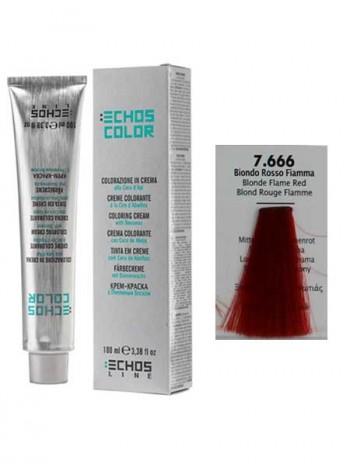 7/666 Краска для волос Echos Color огненно-красный блондин