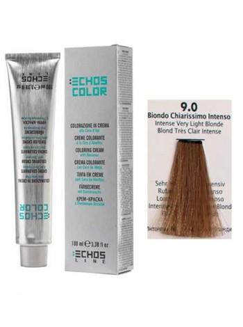 """9/0 Краска для волос Echos Color """"интенсивный светло-русый"""""""