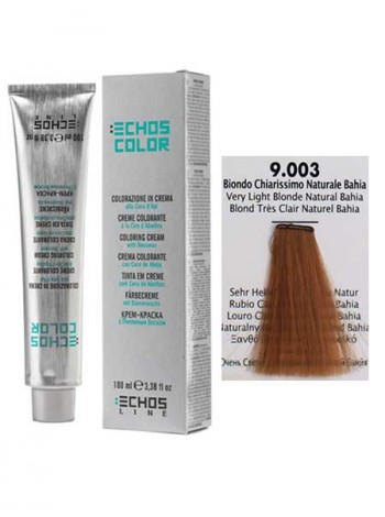 """9/003 Краска для волос Echos Color """"очень светло-русый байя"""""""