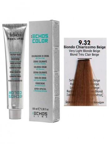 9/32 Краска для волос Echos Color бежевый светлый блондин