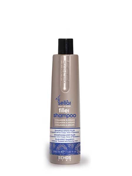 Шампунь для ослабленных волос Echosline. 350ml