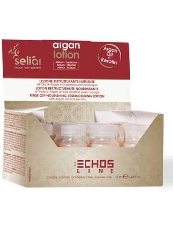 Лосьон восстанавливающий с арганой и кератином Echosline Seliar Argan
