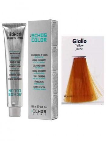 Yellow Краска для волос Echos Color желтый корректор