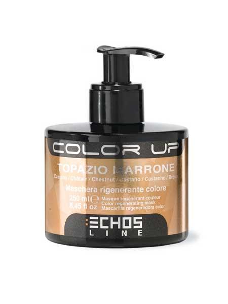 Тонирующая маска для волос (каштановый цвет) Echosline