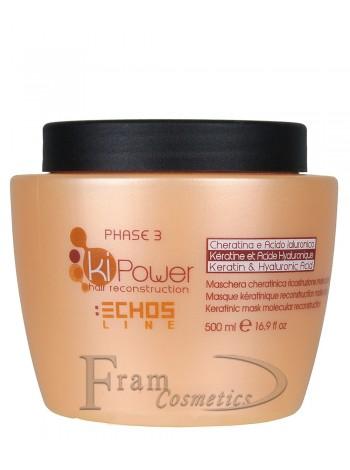 Кератиновая маска молекулярного восстановления Echosline Ki Power