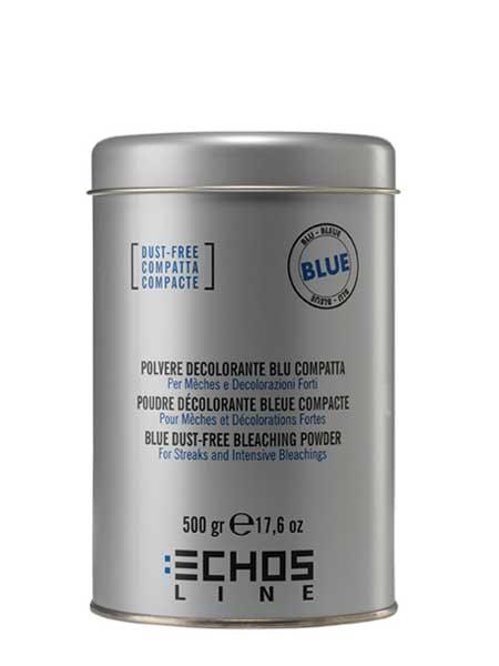 Беспылевой блонд-порошок голубой Echosline 500ml