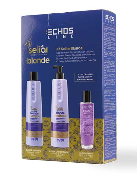 Набор Echosline Seliar Blond 800ml