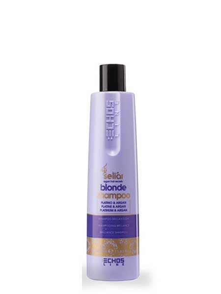 Шампунь для светлых и окрашенных волос Echoline Seliar Blonde  350ml