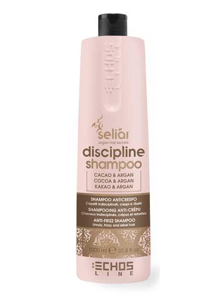 Шампунь для непослушных волос. Echosline 1L