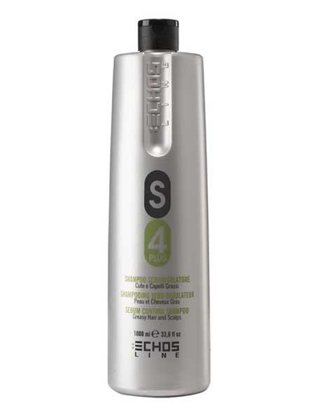 Шампунь для жирных волос Echsoline S4 Plus 1000ml