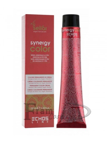 Крем-краска с аргановым маслом без аммиака Echosline Seliar Synergy Color