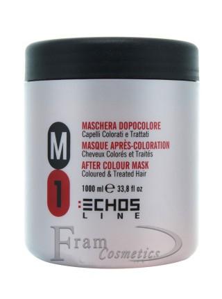 Маска для окрашенных и поврежденных волос Echosline M1
