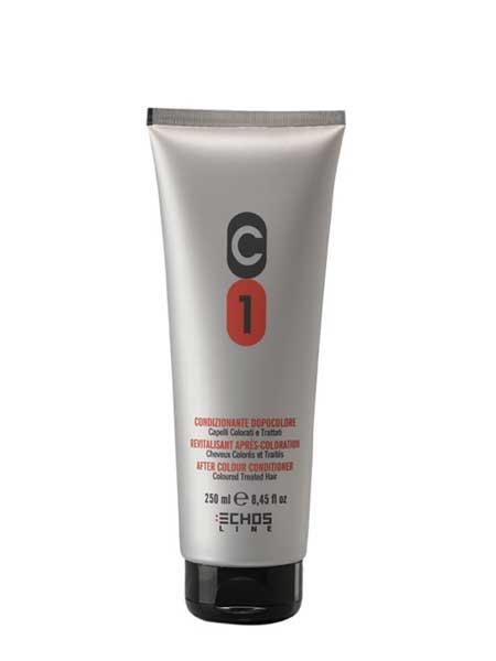 Кондиционер для окрашенных и поврежденных волос. Echosline C1 250ml