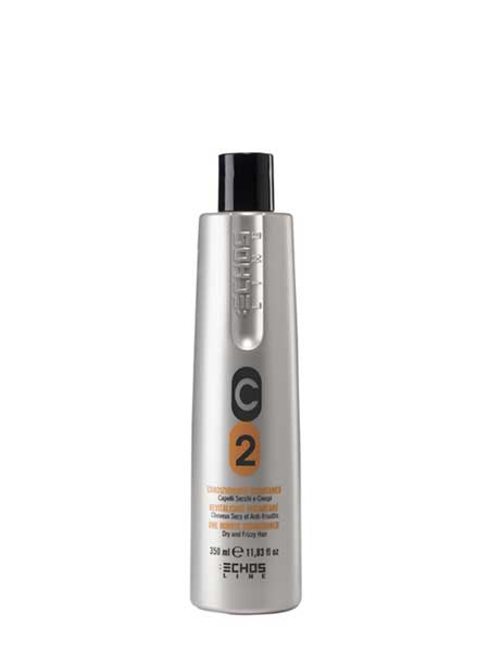 Кондиционер C2 для сухих и вьющихся волос Echosline 350ml