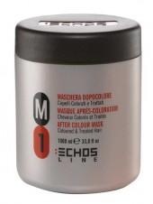 Маска М1 для окрашенных и поврежденных волос Echosline 1L
