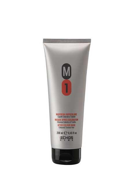 Маска М1 для окрашенных и поврежденных волос Echosline 250ml