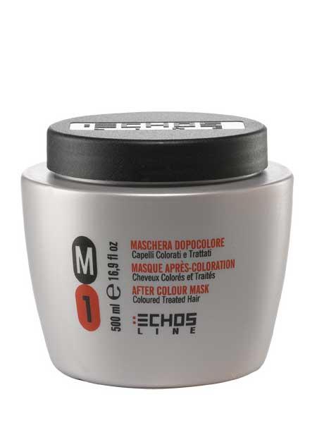 Маска М1 для окрашенных и поврежденных волос Echosline 500ml