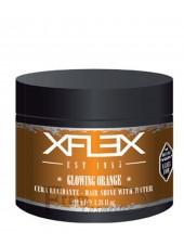 Воск на водной основе длительной фиксации с папайей xFlex Glowing Orange