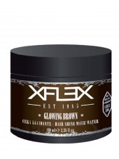 Воск длительной фиксации на водной основе xFlex Glowing Brown