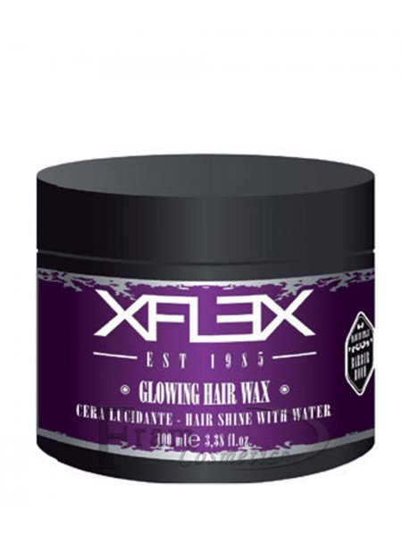 Воск длительная фиксация на водной основе с маслом арганы xFlex Glowing Hair Wax