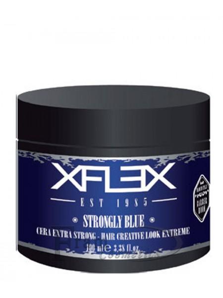 Воск с морскими водорослями супер фиксация xFlex Srtongly Blue