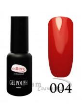 Гель-лак EdLen 004 Глубокий красно-оранжевый