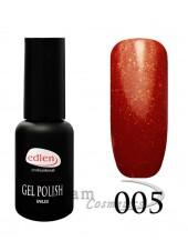 Гель-лак EdLen 005 Темно-красный