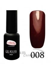 Гель-лак EdLen 008 Темно-красный с шиммером