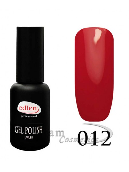 Гель-лак EdLen 012 Рубиново-красный